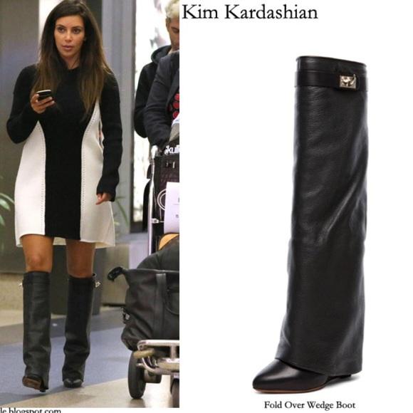 Zara Shoes   Knee High Flat Leather